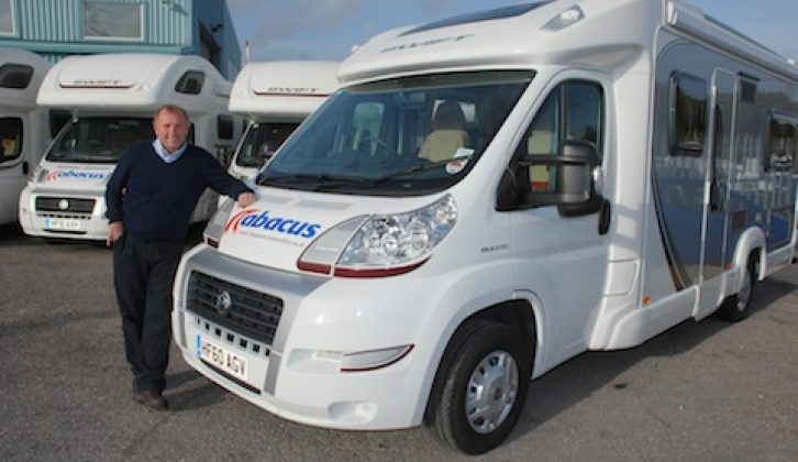 Abacus MD Dave Wolfenden with the fleet