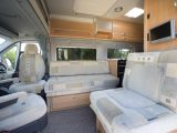 2007 Auto-Sleeper Symbol - front lounge viewed from front passenger seat