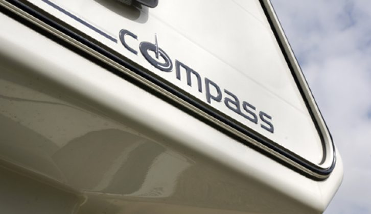 2007 Compass Avantgarde 180 - decal on overcab