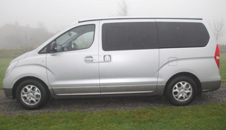 2011 Wellhouse Hyundai i800 Camper - profile