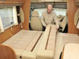 2011 Swift Kon-Tiki 659 - making up lounge bed