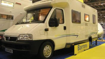 2006 Chausson Flash 08 - front three-quarters view