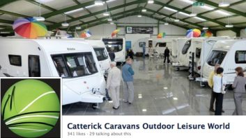 motorhome and caravan show Sept 2012