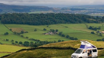 Mazda Bongo at the Ribble Valley