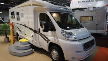 Sunlight motorhome at the NEC