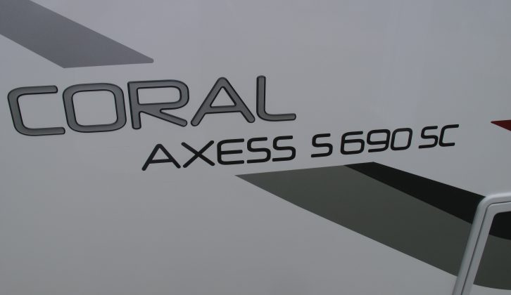 2014 model Adrial Coral Axess.