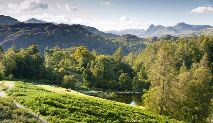 Beautiful Tarn Hows is just one place recommended in Practical Caravan's travel guide to caravan  holidays in the Lake District