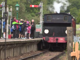 Take a ride on a steam train when in your motorhome on the Isle of Wight