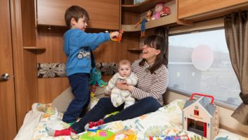 For a good and harmonious family motorhome holiday don't forget the toys!