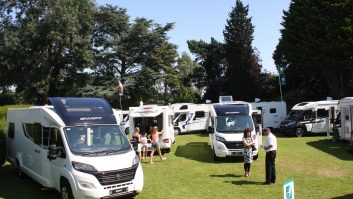 Practical Motorhome at the 2015 Swift launch
