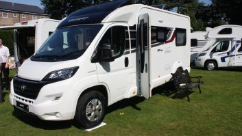 Practical Motorhome on the 2015 Swift Rio, coachbuilt on a smaller footprint
