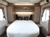 The Kon-tiki 669 Black Edition has a great island bed, says Practical Motorhome