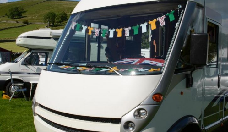 Ruth and Geoff's Carthago provided the perfect base for this tour of Yorkshire