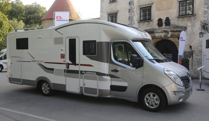 Practical Motorhome on the new for 2015 Adria Matrix Supreme M 687