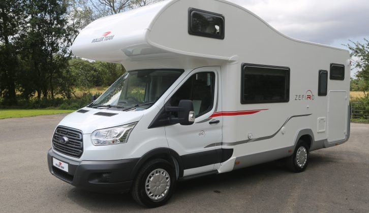 Zefiro is the entry-level Roller Team range, previewed by Practical Motorhome