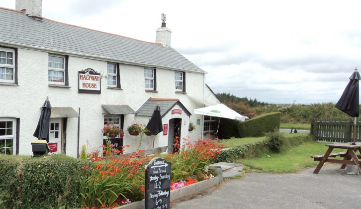 The Halfway House is one of our Nightstops, in Wadebridge, perfect for your holidays in Cornwall