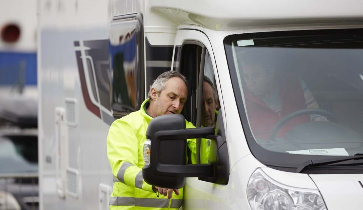 Learn how to drive a motorhome at the NEC show for free!