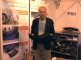 Andy Harris finds cool new motorhome accessories such as the Froli Wheel Leveller on The Motorhome Channel's TV special from the NEC Birmingham