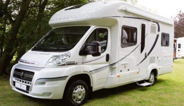 Simpsons, one of the new Approved Dealerships, stocks the Auto-Trail V-Line motorhome