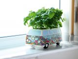 The Herbert Campervan Planter (priced at £19.95) could be the ideal Christmas present idea for a green fingered motorcaravanner