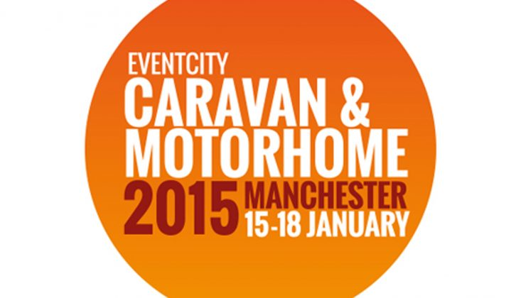 Here's what we are looking forward to most at the 2015 Caravan and Motorhome Show in Manchester