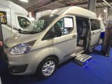 Over on the Wellhouse Leisure stand, the Ford Terrier High-Top attracted attention