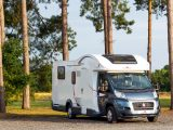 We test the range-topping Roller Team T-Line 740 – an Italian designed mid-profile four-berth motorhome produced by a French-owned firm that's a winner in the UK