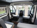 The space this 'van offers over, say, a VW Transporter, is clear from the moment you step aboard