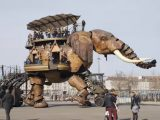 The magnificent mechanical elephant of Nantes is guaranteed to steal any show – so tune in to our latest TV show and enjoy the ride
