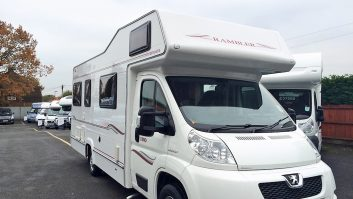 Gary and Anne Burfield-Wallis's Compass Rambler was their first motorhome and their full-time home