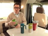 Practical Motorhome's Editor Niall Hampton reviews a selection of travel mugs on The Motorhome Channel