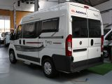 Based on the 2.3-litre turbodiesel, 130bhp Fiat Ducato, the Adria Twin 500 S has an MTPLM of 3300kg and payload of 545kg