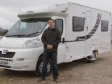We compare the Auto-Trail to this Elddis Autoquest 155 in our French-bed motorhome TV Special