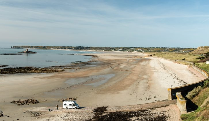 We visit Jersey and discover amazing beaches, forts and a tunnel into the past