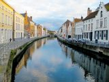 The Haffertys enjoyed beer, chocolate and hot chestnuts on their motorhome tour of Bruges