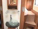 There's a hotel-style washroom in the RS Endeavour