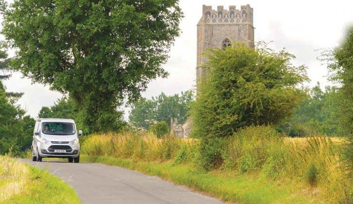 Practical Motorhome's English villages tour begins with Kersey in Suffolk