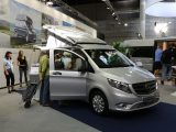The Mercedes-Benz Vito-based Westfalia Jules Verne was presented at the 2015 Caravan Salon