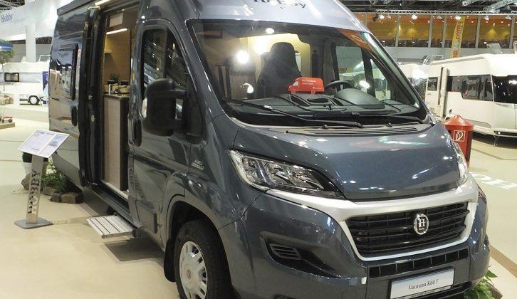 Hobby launched its 2016 Vantana range of hi-top campervans at Germany's Caravan Salon