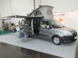 New from the Ukraine is Autocamper, making a simple campervan for 2016