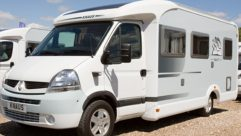 The Renault Master-based 2008 Knaus Sun TI 650 MF only has a payload of 491kg