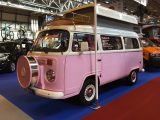 This charming T2 broke up the mass of T6 conversions over on the Danbury stand