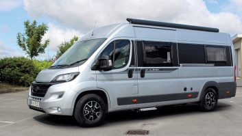 The 2016 Auto-Trail V-Line 635 SE is 6.36m long, 2.05m wide and 2.8m high