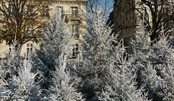 Enjoy a winter city break in your motorhome – many urban sites are open all year round