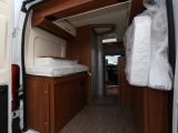 With the rear double bed packed away you could load surf boards, fishing gear or bikes into the Vantana