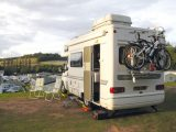 Sharon and Chris tried out new campsites as well as old favourites