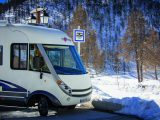 Ruth and Geoff Bass share their tales of skiing from their 'ski chalet on wheels'