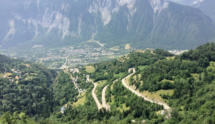 Cycling in the Alps is challenging – but a motorhome makes it far more comfortable!