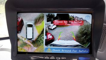 Reader Alan Jenkins fitted his own all-around-view camera system in his motorhome