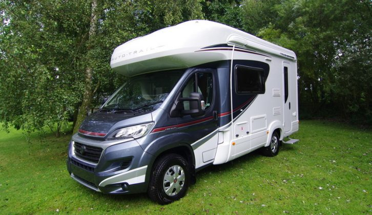 Some Auto-Trail Trackers have faulty TV brackets
